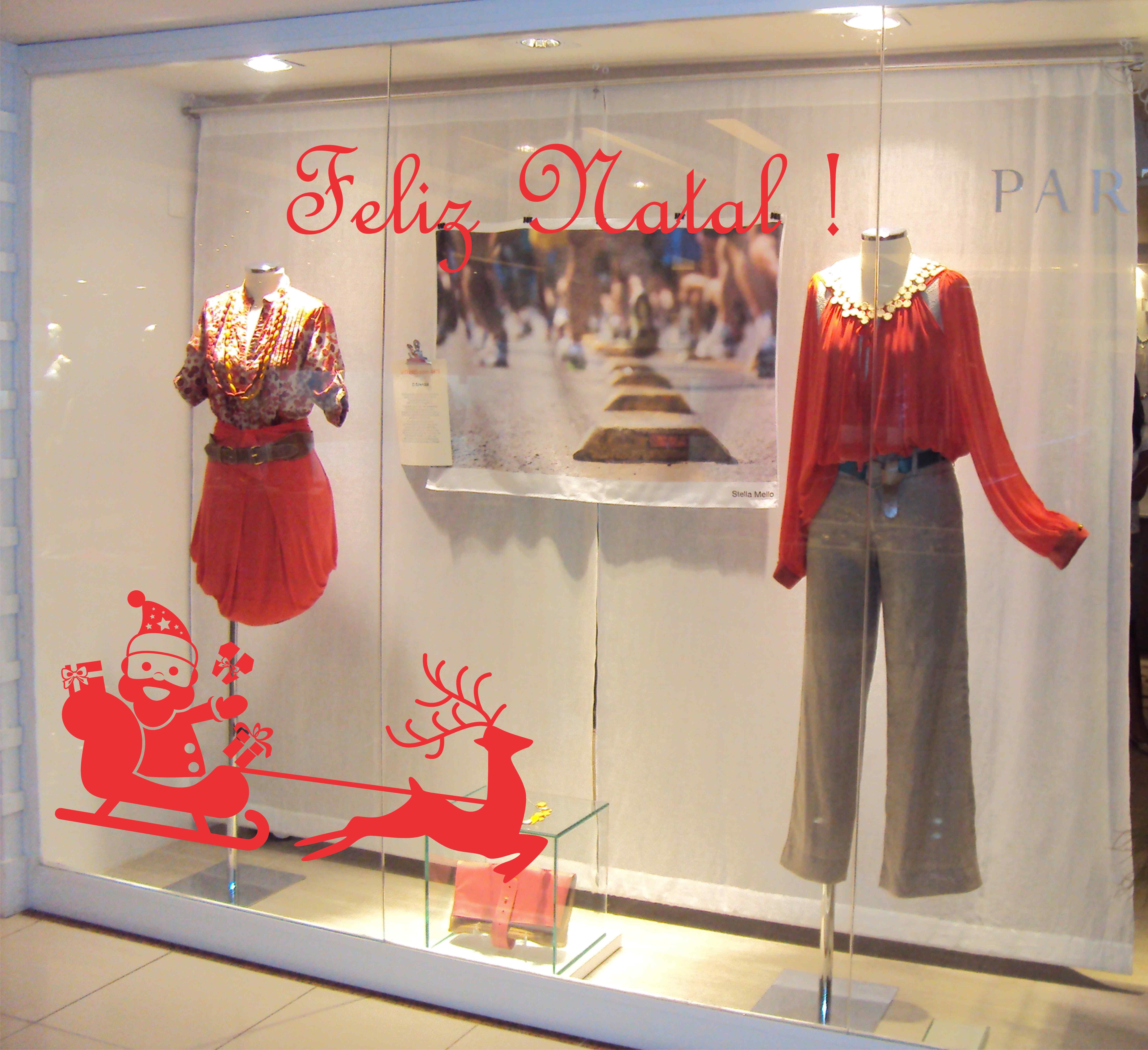 Arte E Artesanato Folclorico ~ Adesivos decorativos natal vitrine Adesivos Sempre Viva