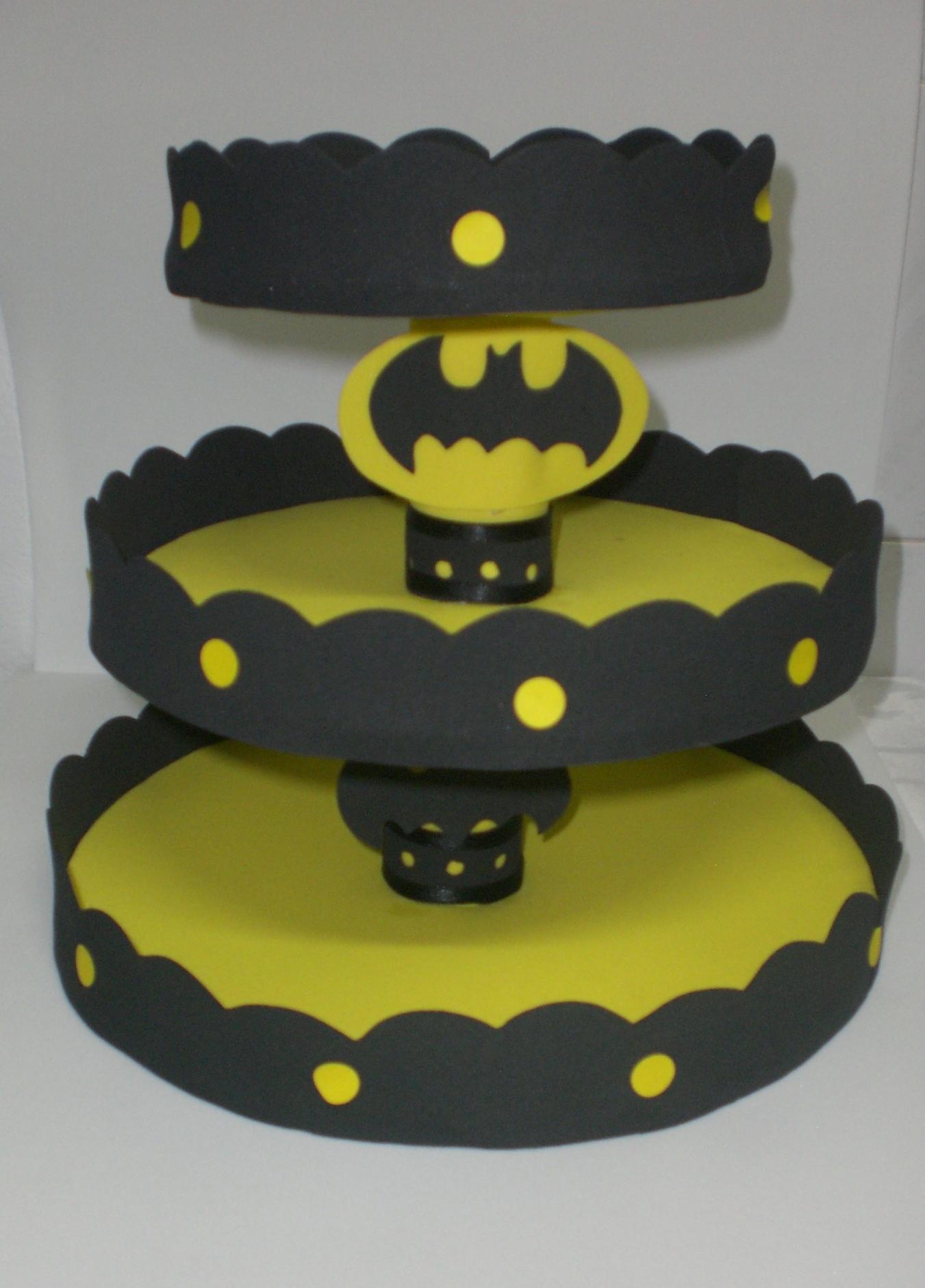 Baleiro Batman Em Eva Tati Tvg Arte Em Eva Elo7