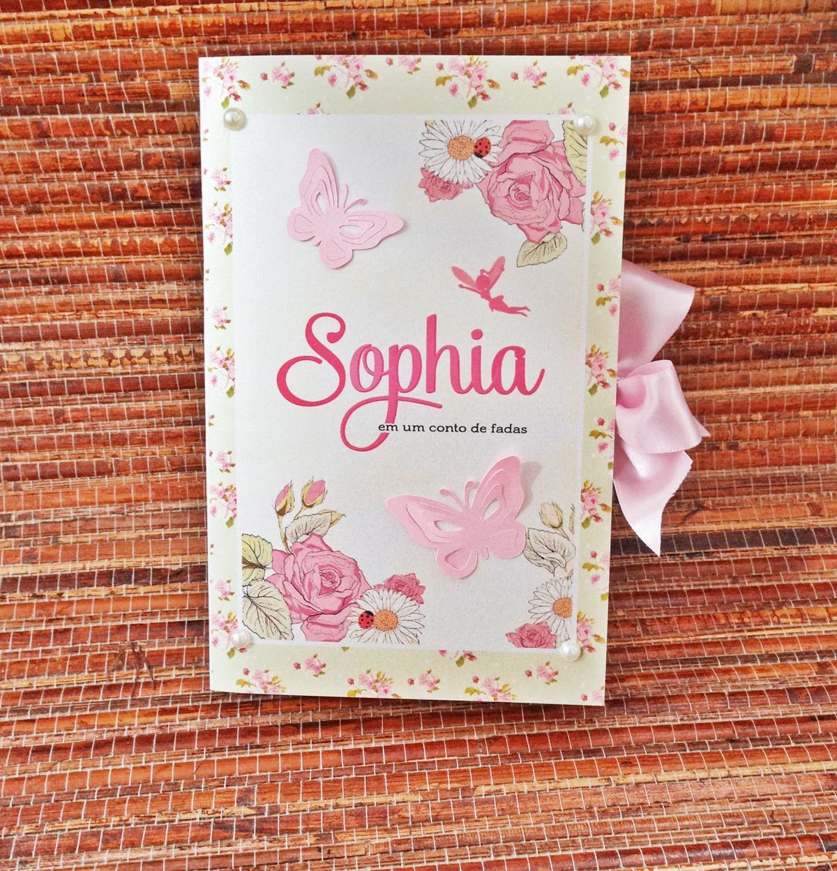 Convite tipo Livro-Jardim das Borboletas | Ana Chiyo Convites e Mimos | Elo7