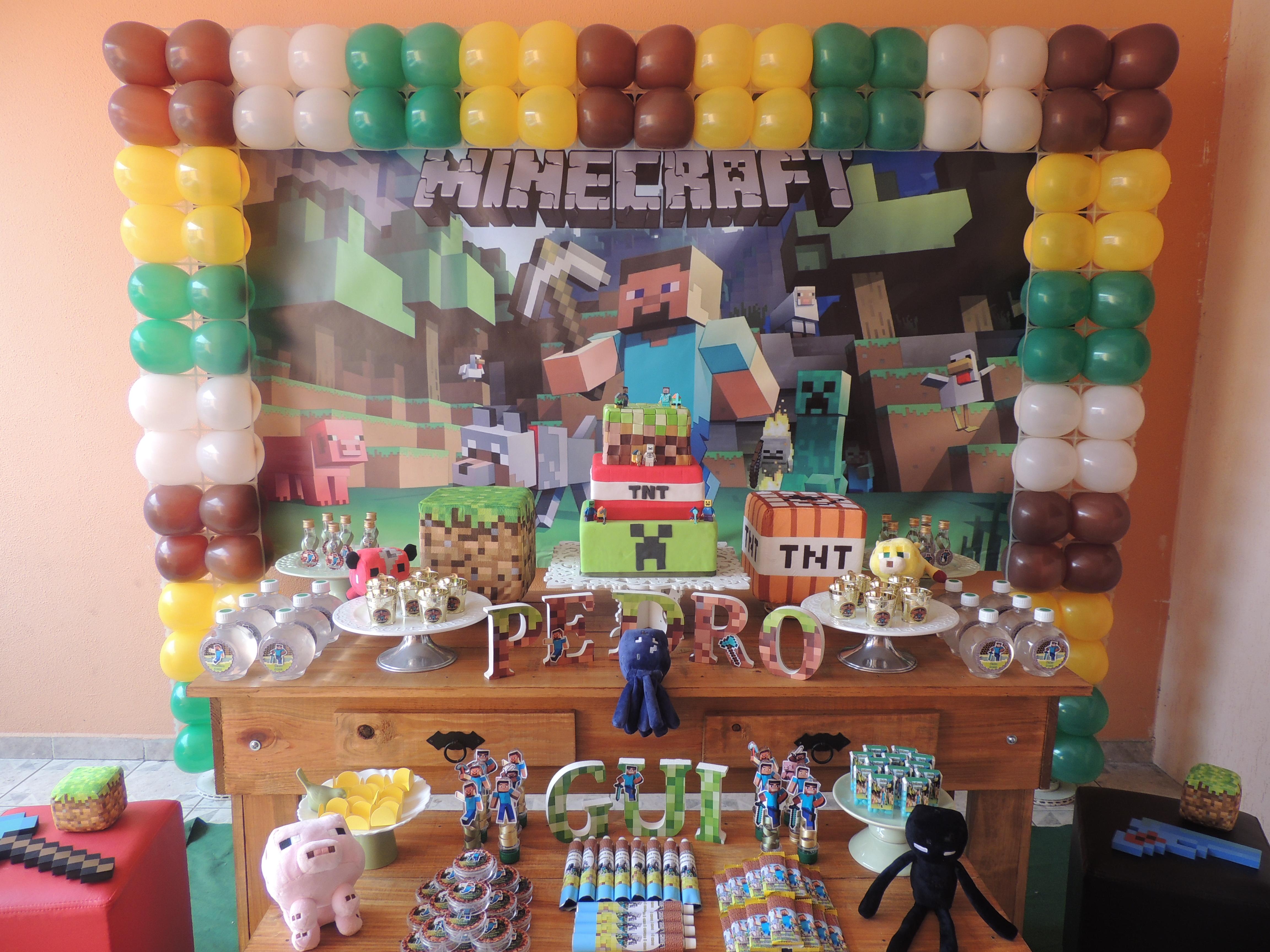 Decoração Rústica Minecraft  Sonhos e Detalhes  Elo7 -> Decoracao De Banheiro No Minecraft