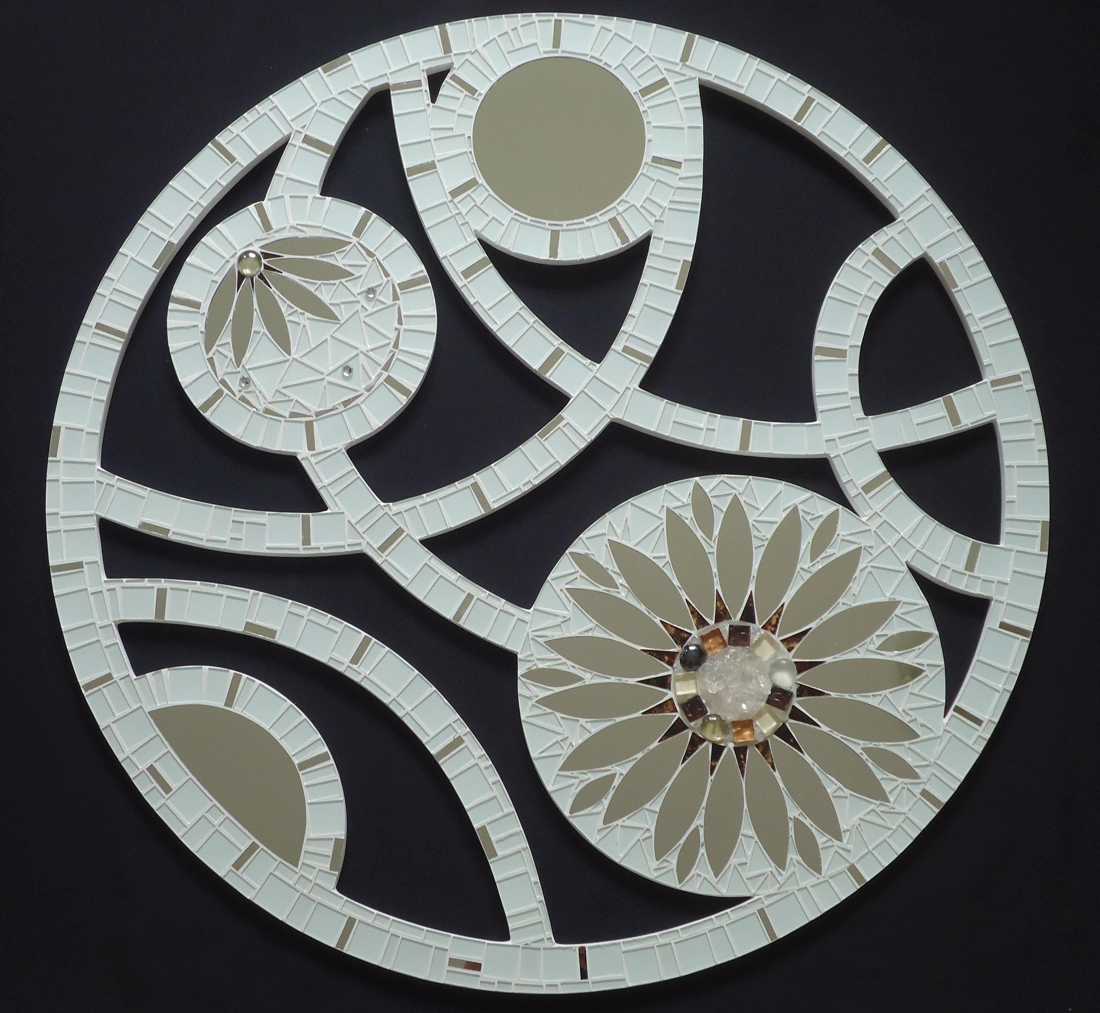 Mandala em 70cm vazada cl o mosaicos elo7 for Cuadros mandalas feng shui decoracion mandalas