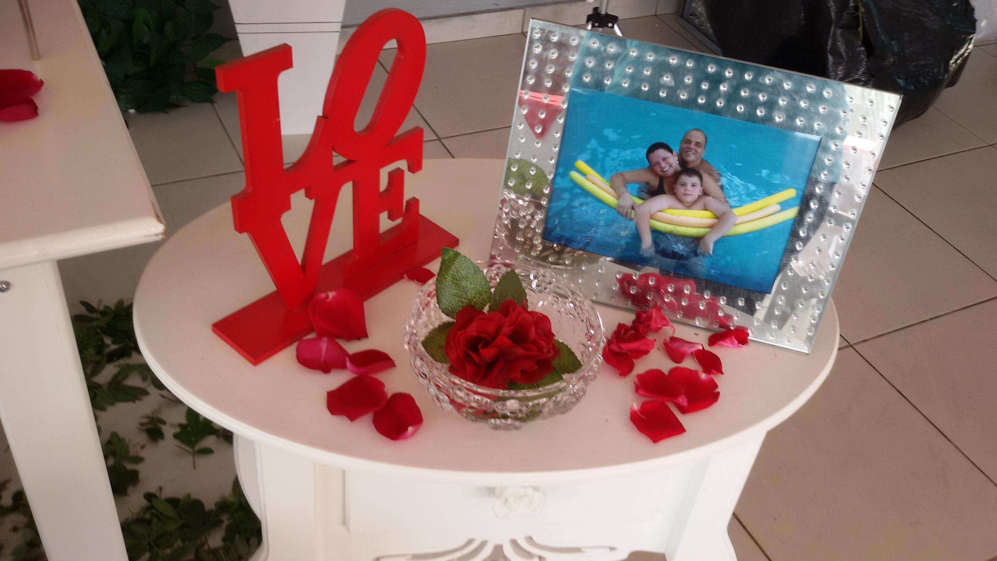 Decoraç u00e3o de Casamento Vermelho e Branco Gih Elo7 -> Decoração De Casamento Simples Vermelho E Branco