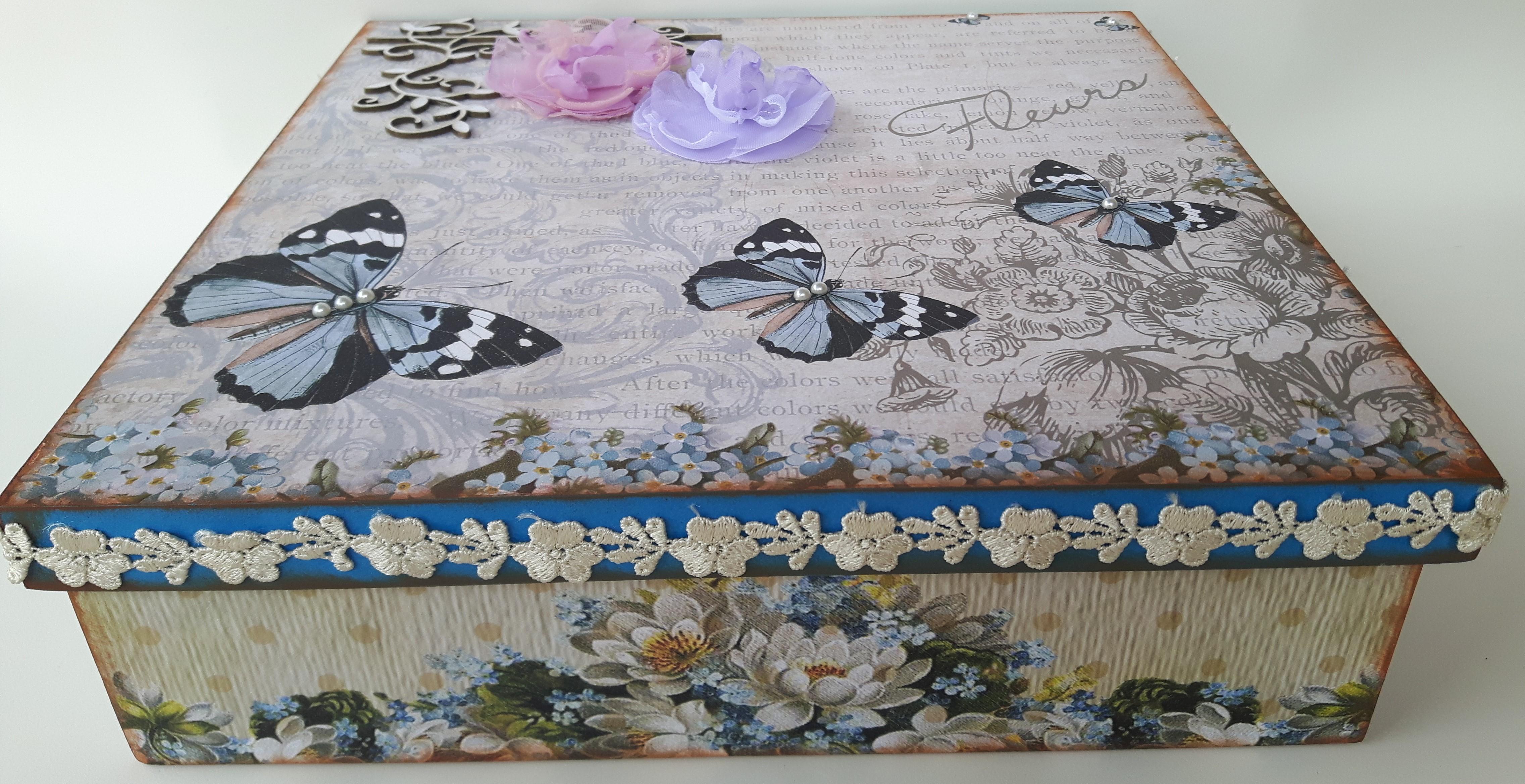 Aparador Blanco Brillo ~ Caixas decoradas artesanato em madeira Mimo Caixas Decoradas Elo7