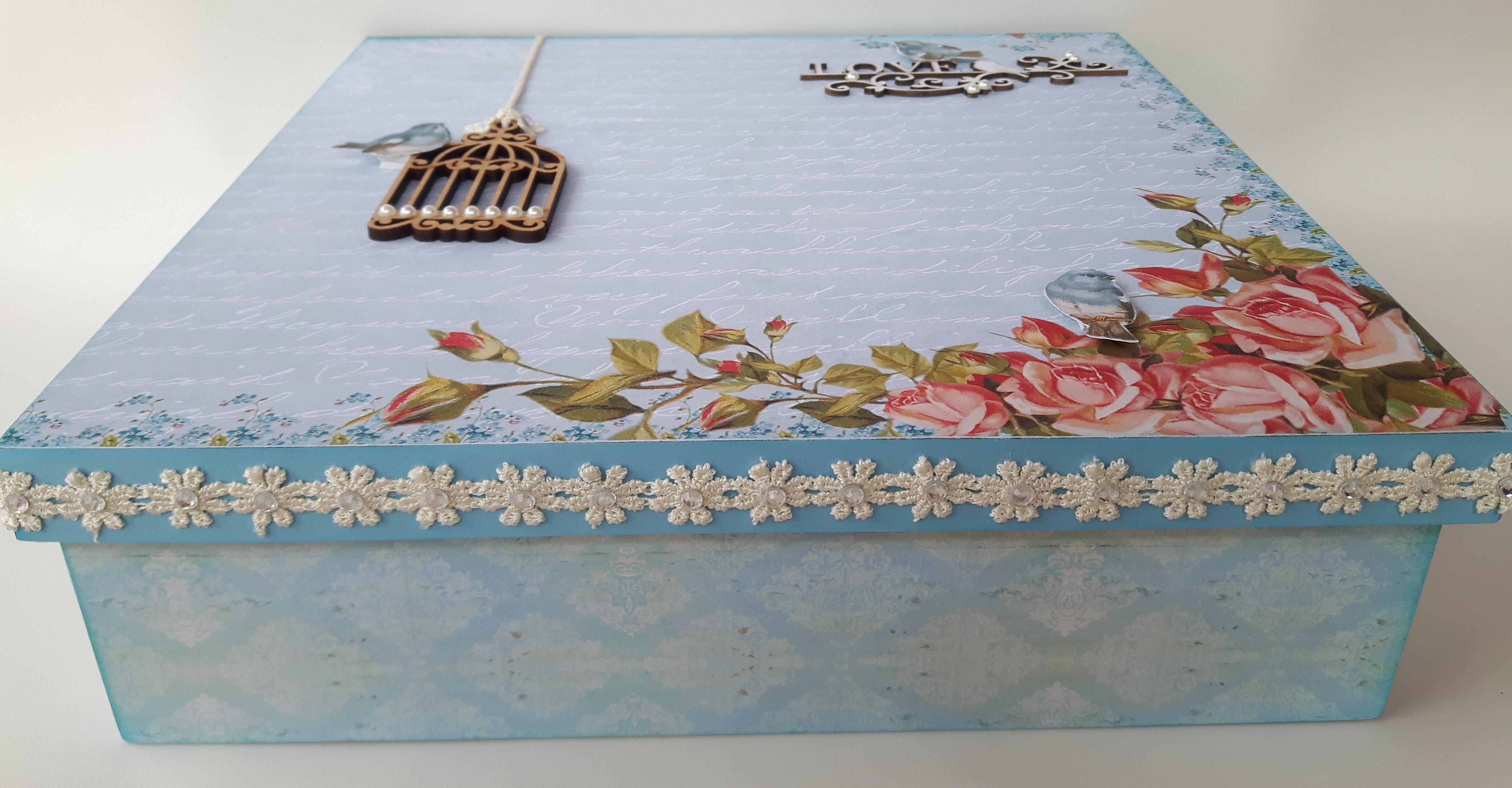 Armario Herramientas Leroy Merlin ~ Caixas decoradas artesanato em madeira Mimo Caixas Decoradas Elo7