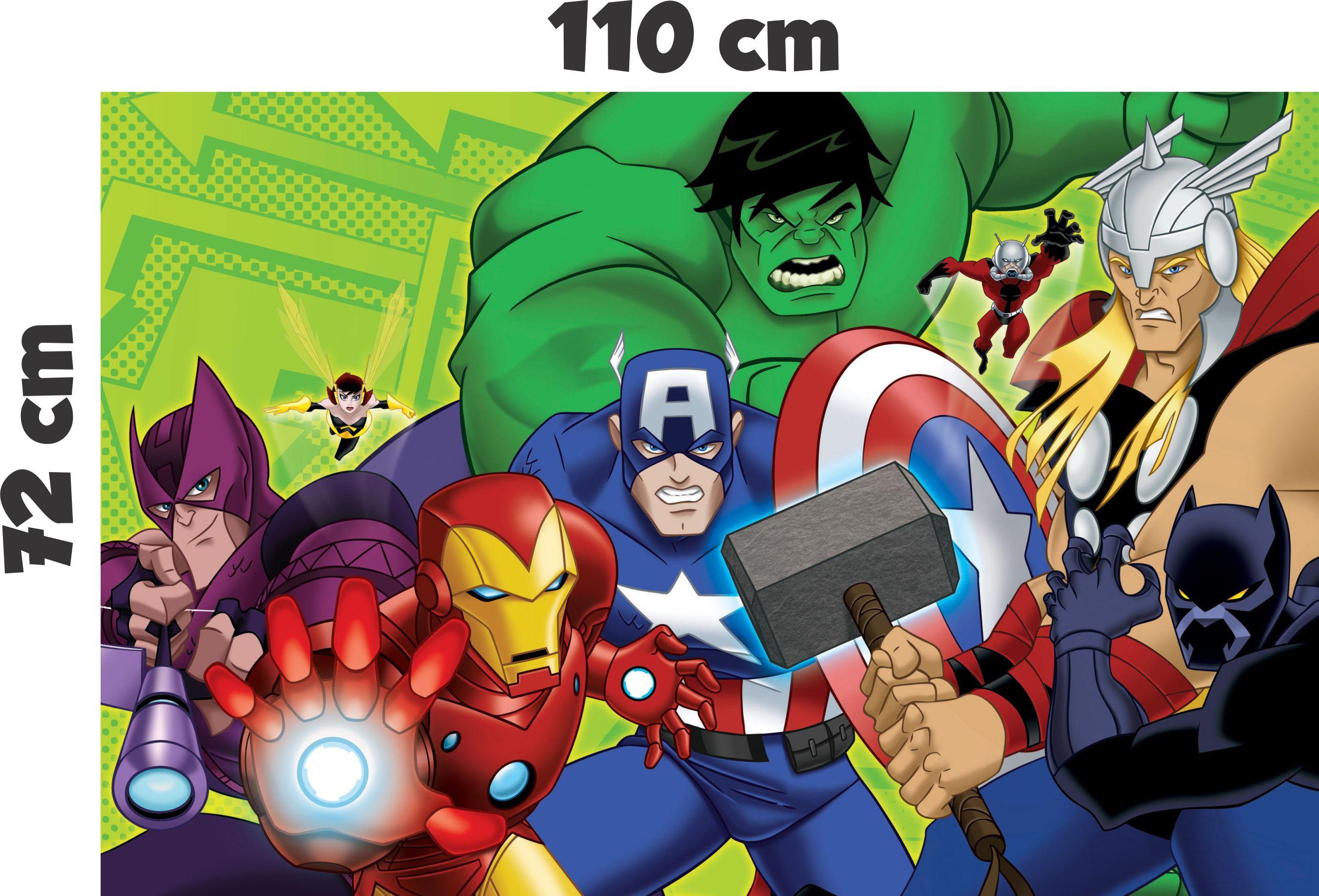 Aparador Tv ~ Adesivo Os Vingadores Avengers desenho Inove Brindes Elo7