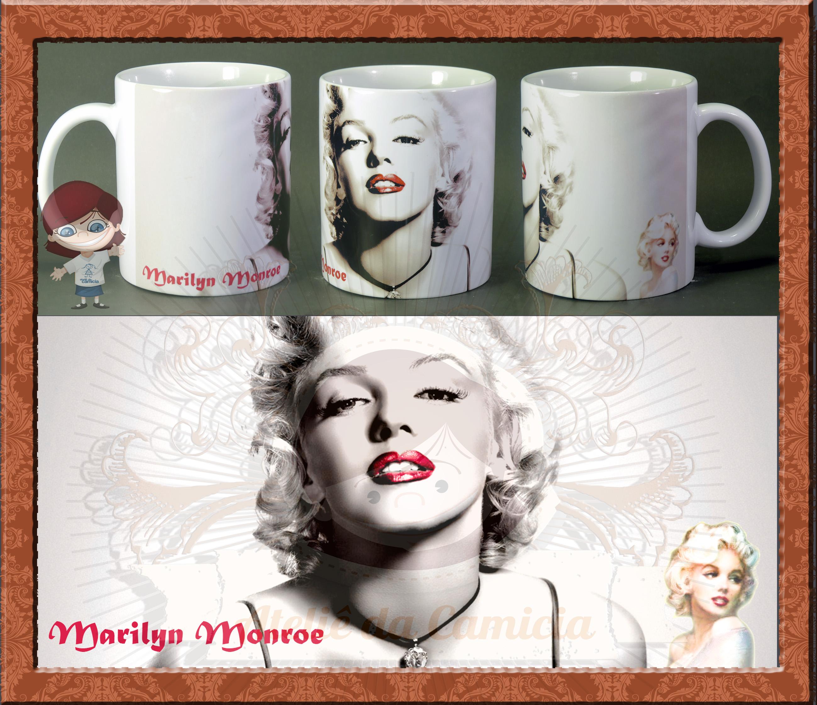 Citaten Marilyn Monroe Itu : Caneca marilyn monroe ateliê da camicia elo