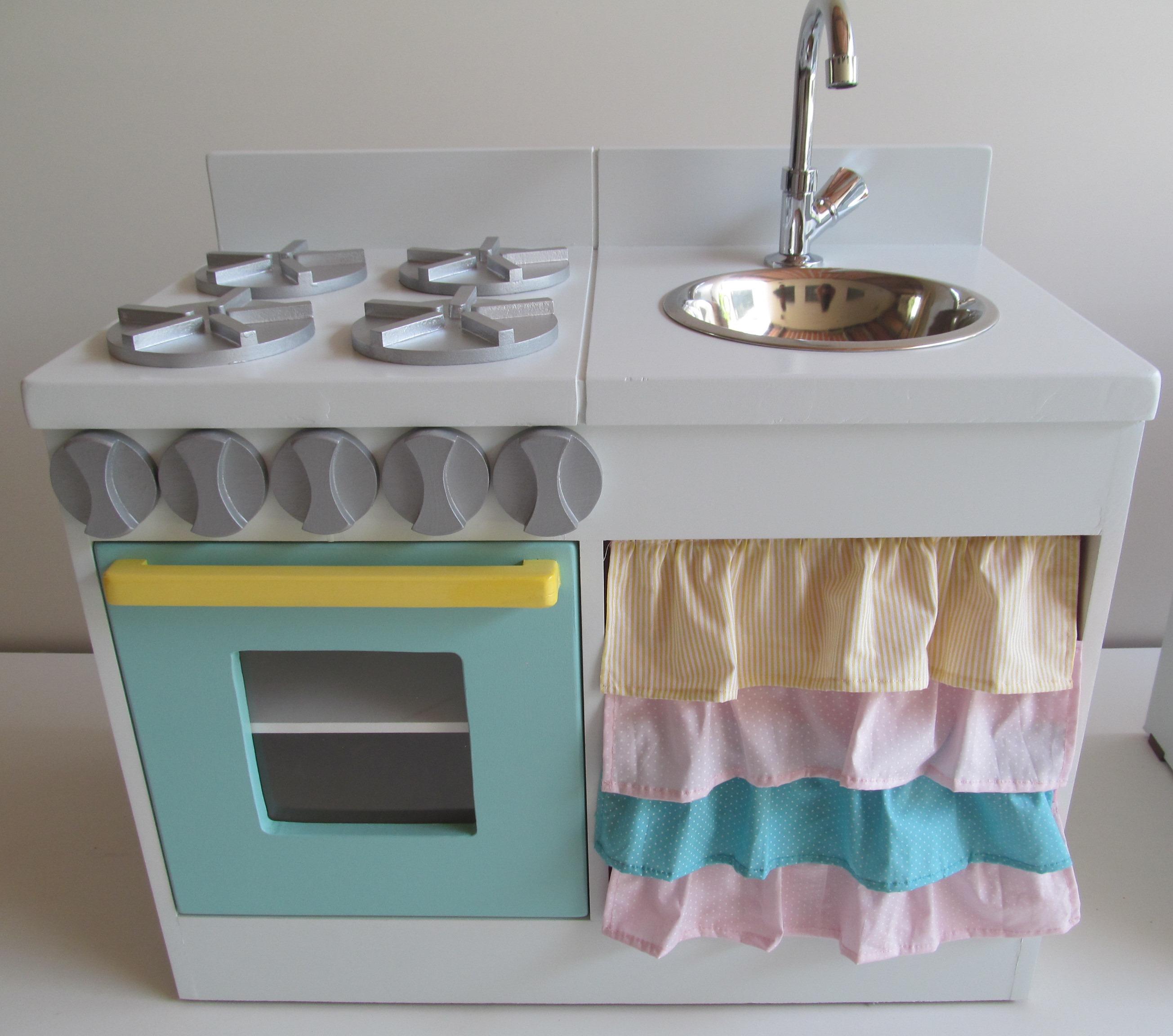 Mini Mundo Móveis Mini Cozinhas # Mini Cozinha Simples
