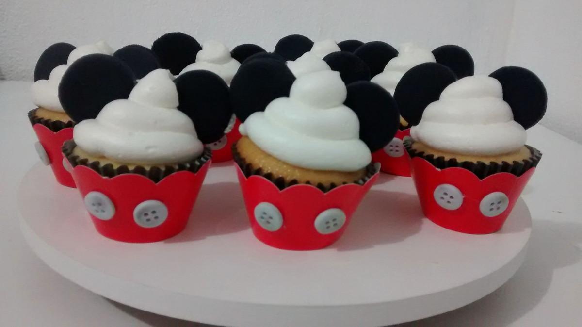 Cupcake Mickey Mini No Elo7 Fam 237 Lia Formiguinha 661b8b