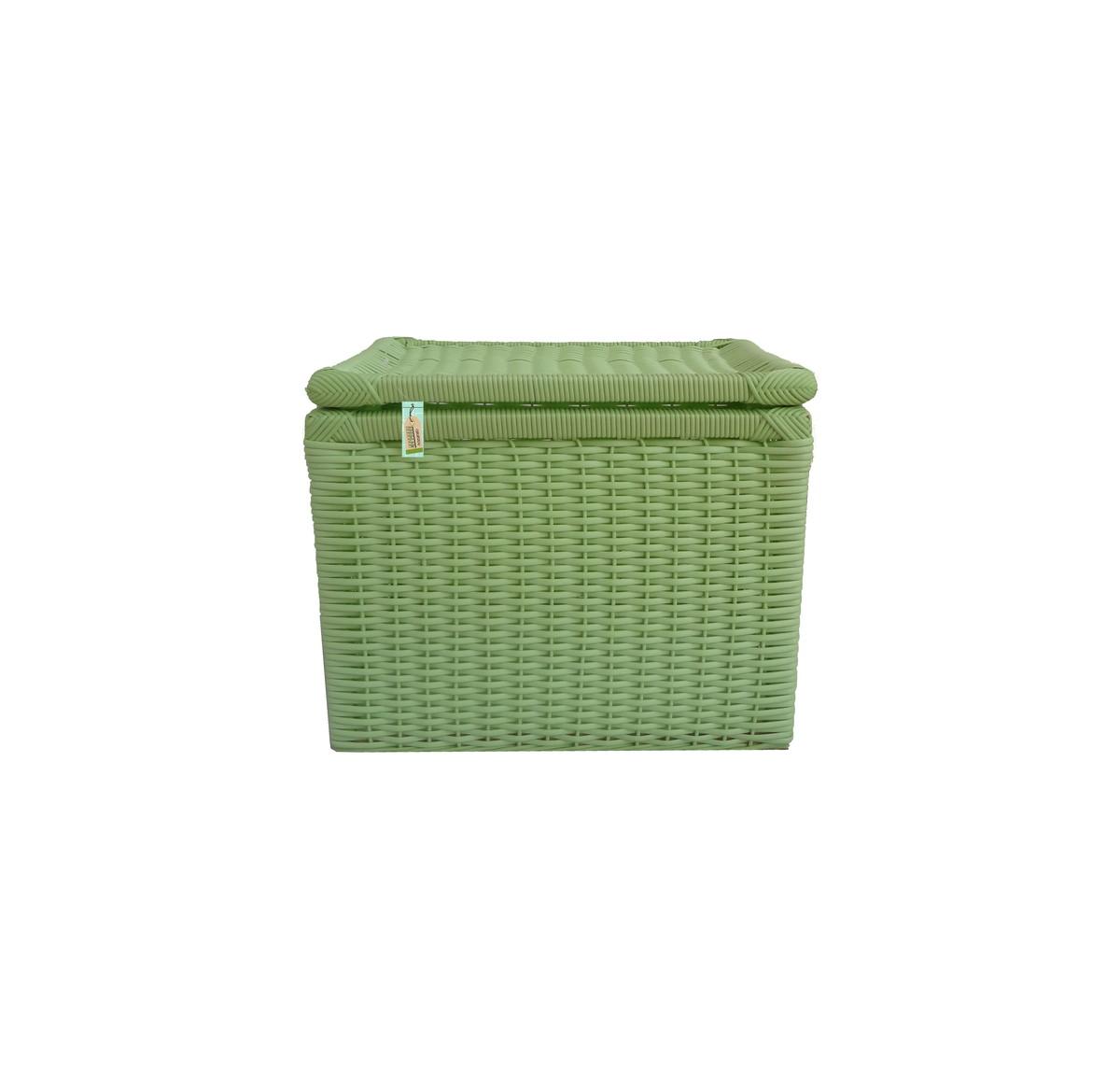 caixa fibra sintetica verde 42x32x34 fibra sintetica caixa fibra  #2C4810 1200x1163