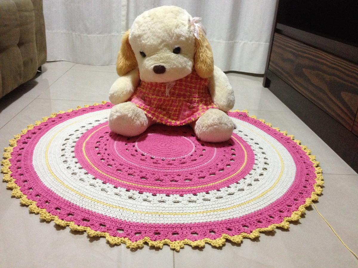 tapete baby rosa e amarelo vera peixoto elo7. Black Bedroom Furniture Sets. Home Design Ideas
