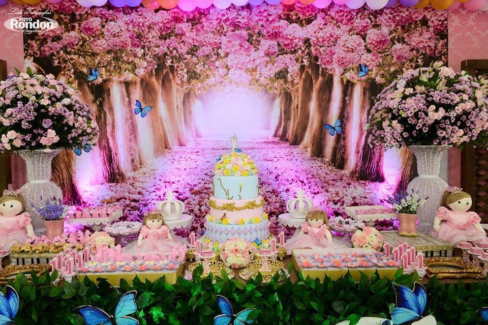 Garrafinha Jardim das Borboletas Art festas Personalizados Elo7 # Decoração De Aniversario Jardim Encantado Das Borboletas