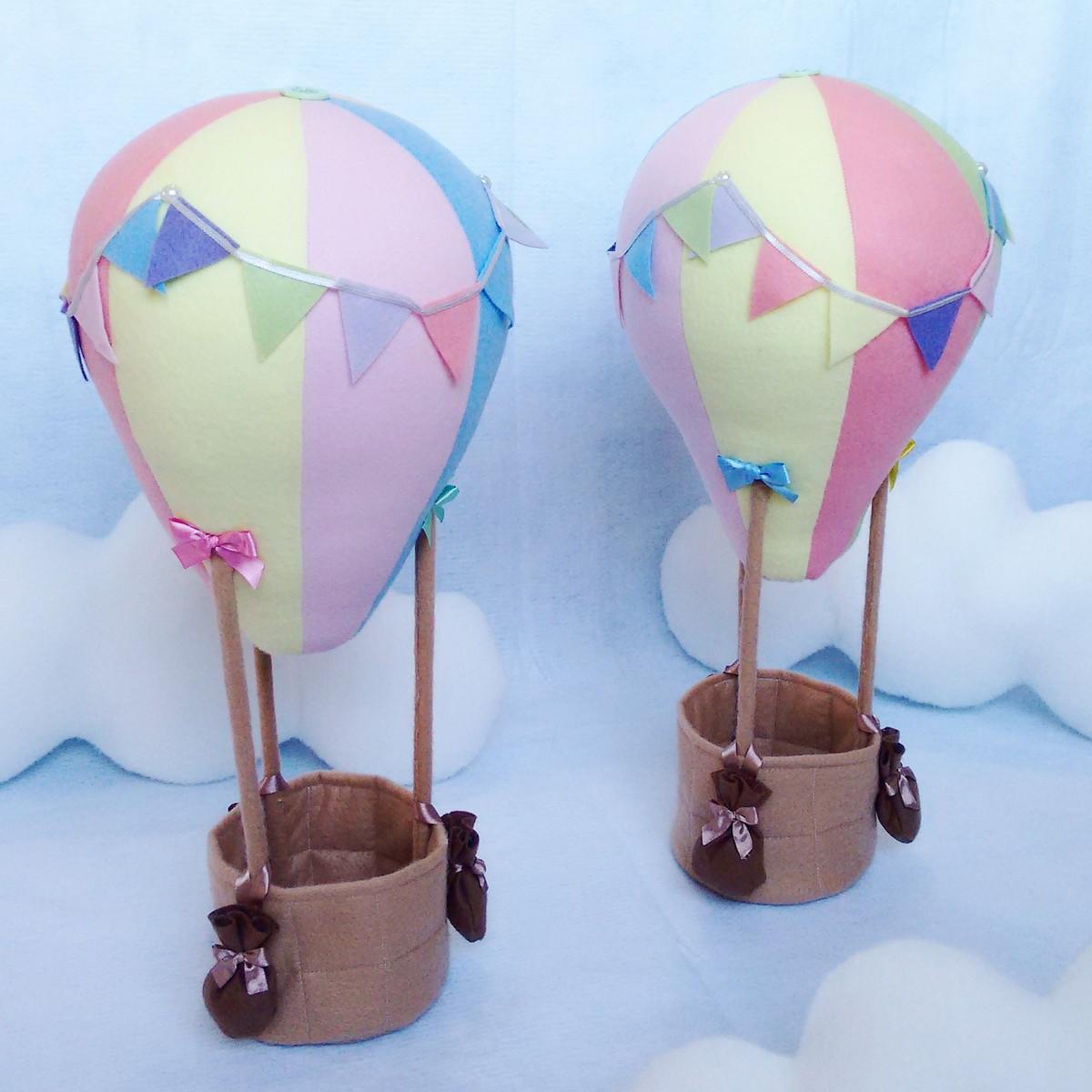 Enfeite De Balão ~ Enfeite de mesa Bal u00e3o de ar quente BluBlu Ateli u00ea Elo7