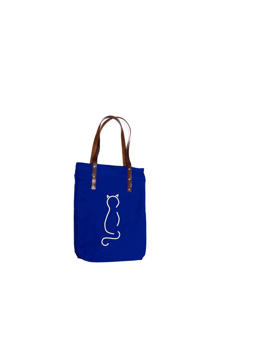 Bolsa De Festa Azul Bic : Bolsa estampa gato cor azul bic focinho feliz elo