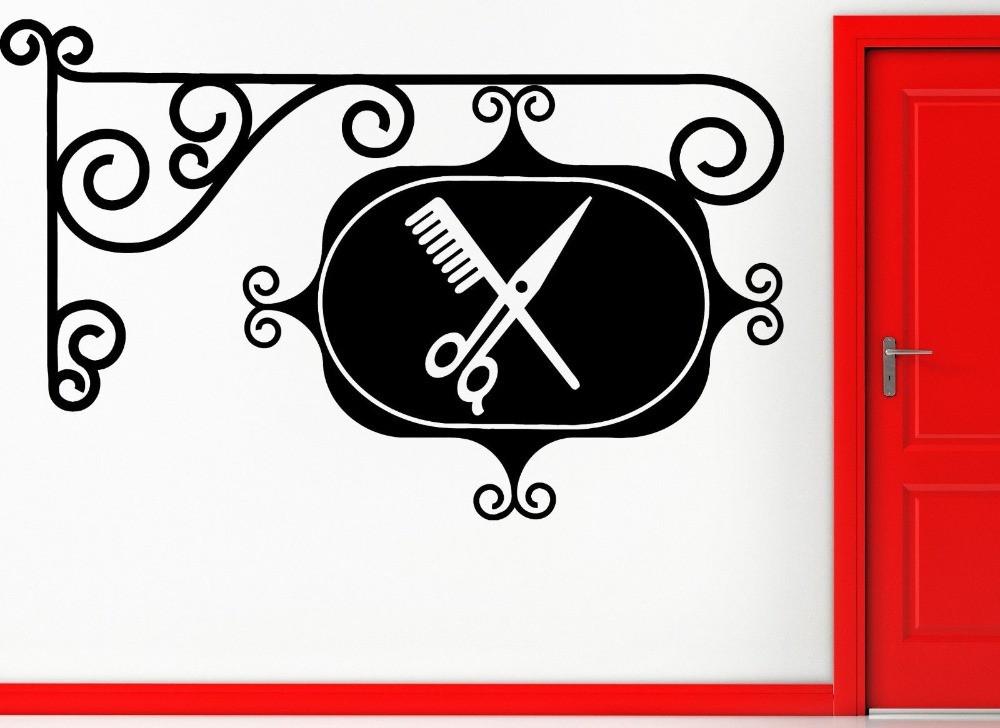 Armario Ikea Aneboda ~ Adesivo Barbearia no Elo7 Aarte Decoor (69EF63)