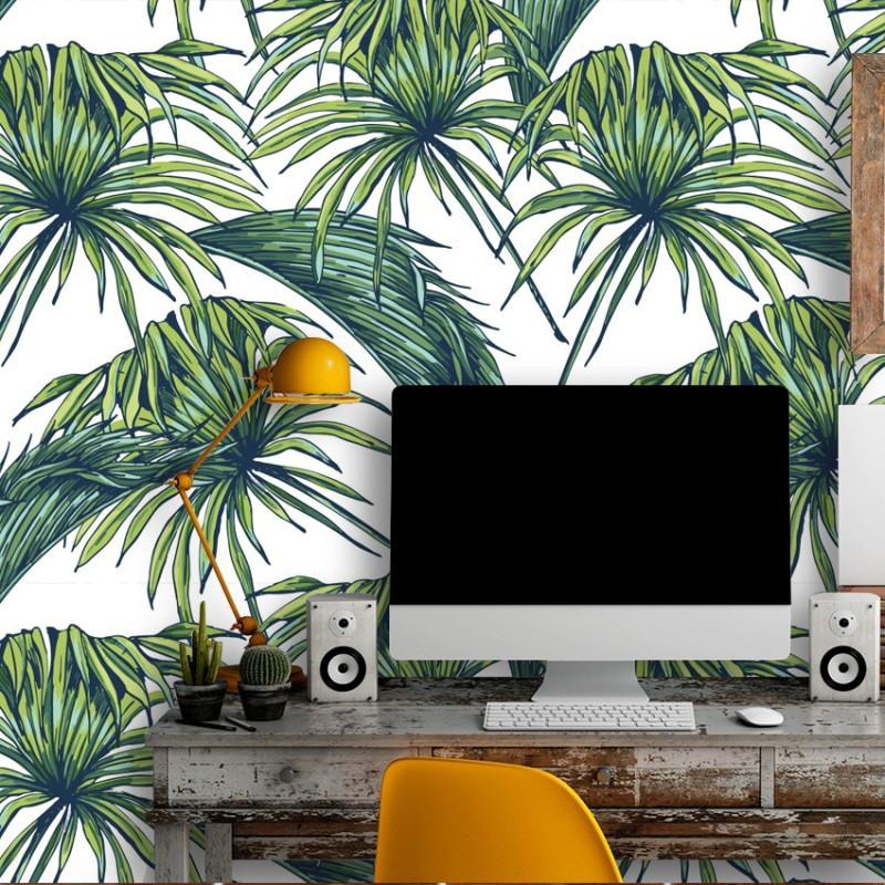 Papel de parede tropical no elo7 qcola 534316 - Papel para paredes baratos ...