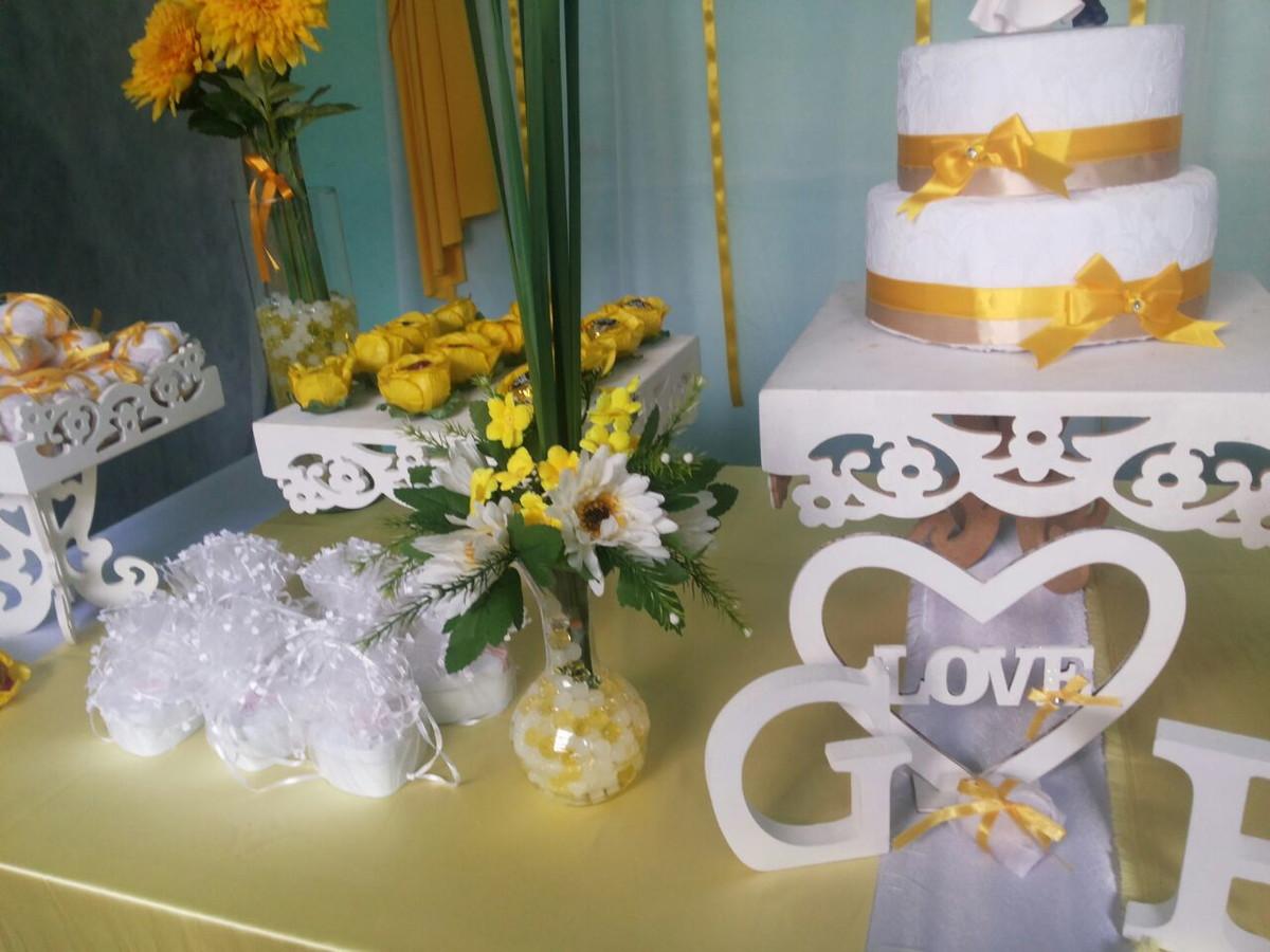 Decoraç u00e3o Casamento Simples Paula no Elo7 Maristela Barreto da Silva Campos (6B9156)