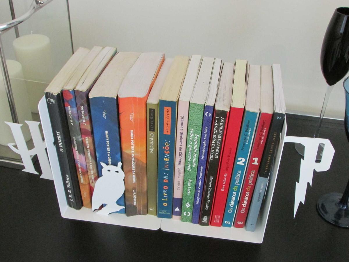 Adesivo Va De Bike ~ Aparador de Livros Potter PeculiArtes Elo7