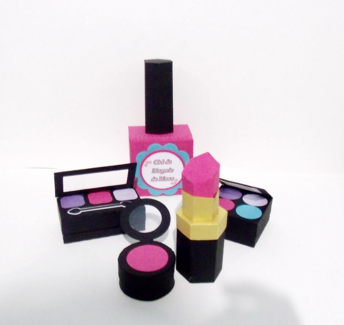 Enfeite De Kit ~ Enfeite de Mesa kit maquiagem Ateli u00ea Lia Figueiredo Elo7