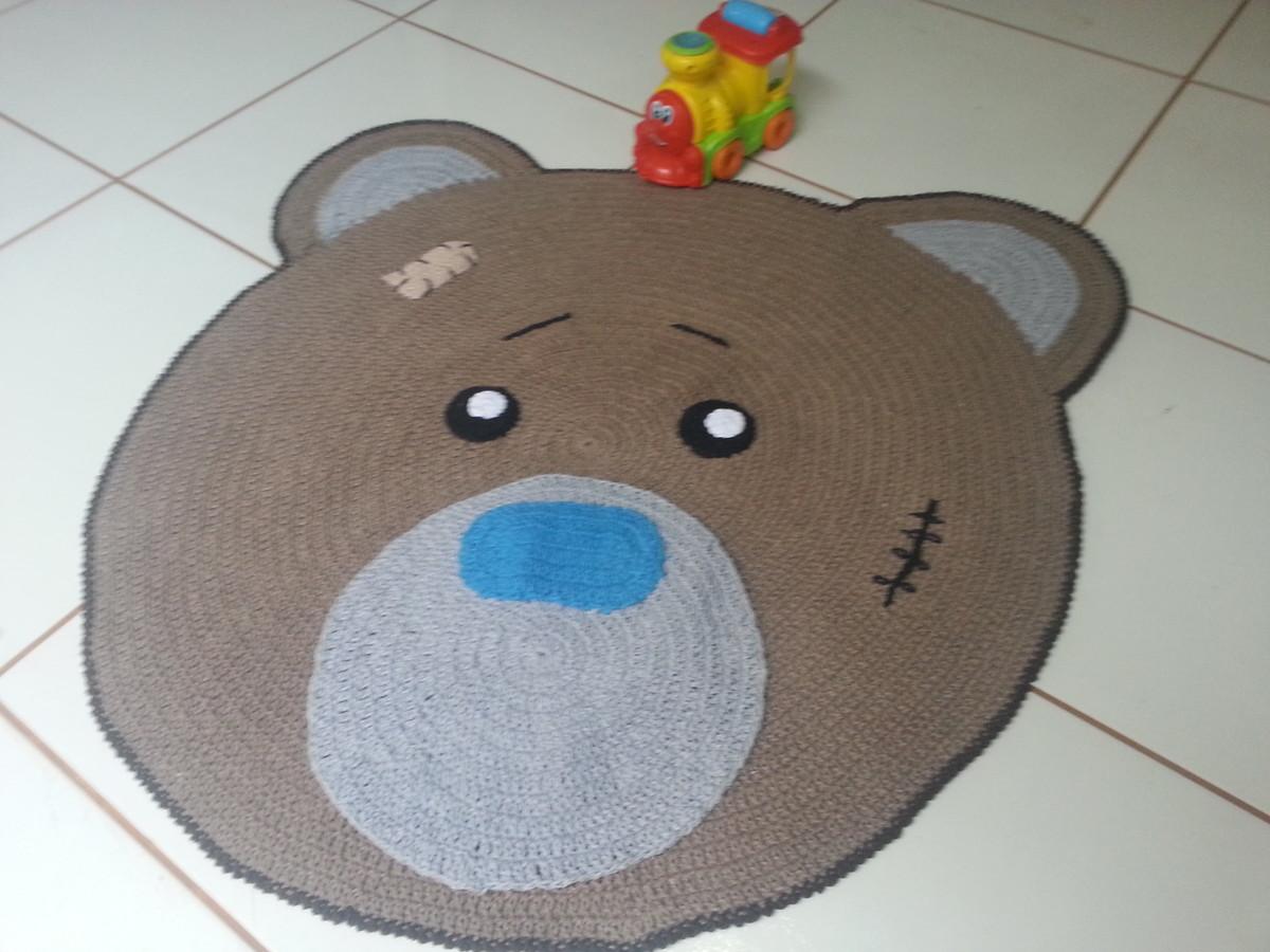 Tapete Urso quarto infantil 1,05 m MARIA AMÉLIA  ~ Tapete Infantil Para Quarto Urso