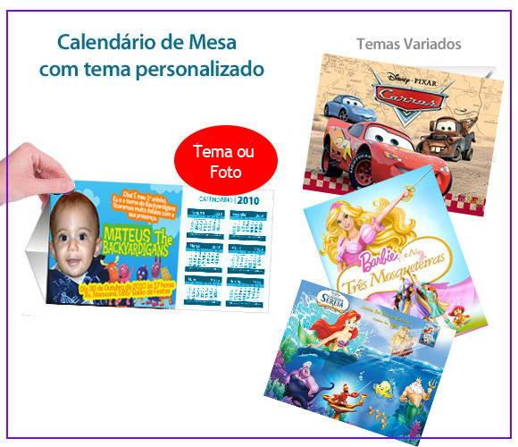 Calendario de mesa dmarcy lembrancinhas elo7 - Calendario de mesa ...