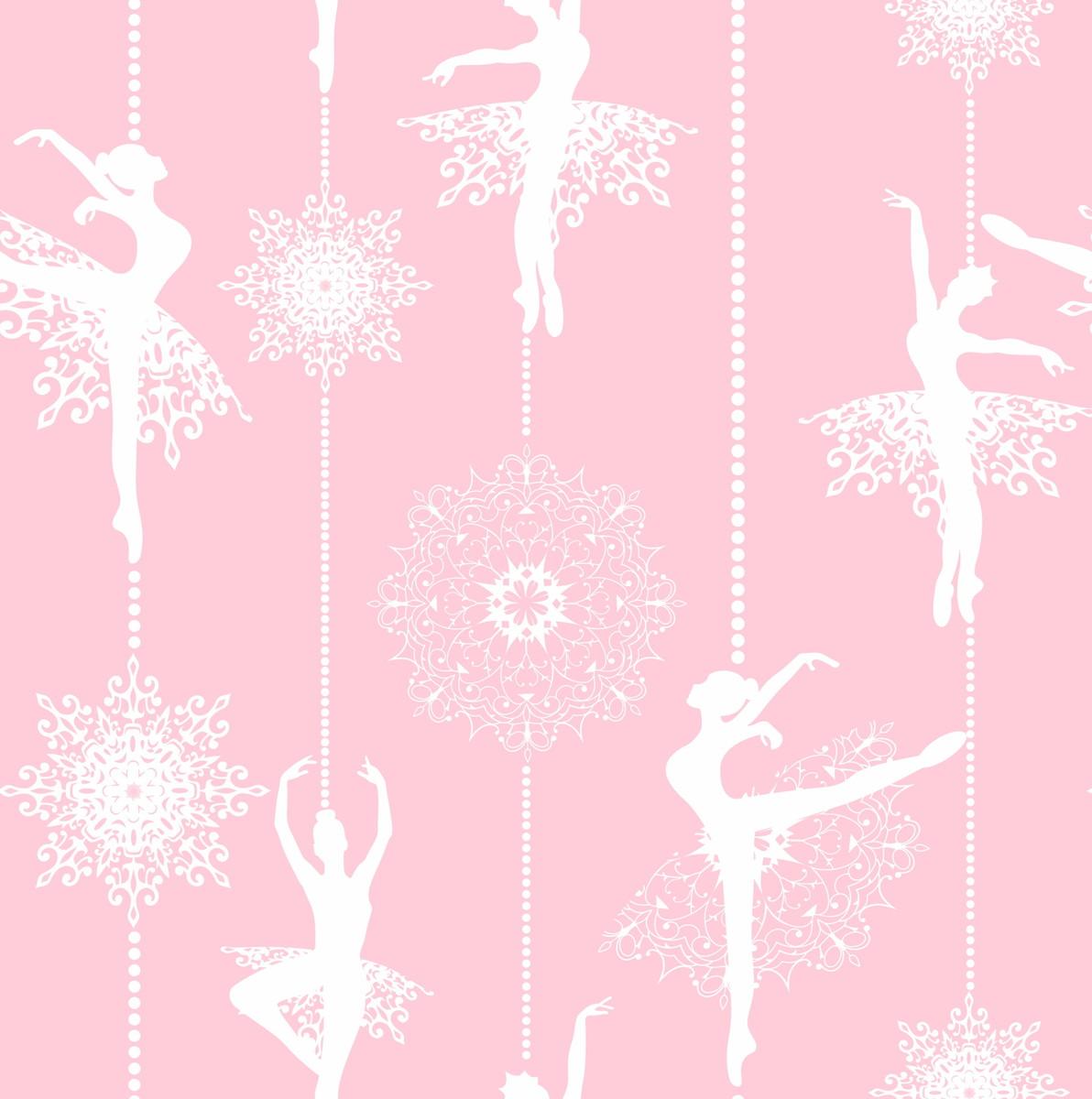 Papel de parede bailarina decor 01 no elo7 crie decore - Papel vinilico para paredes ...
