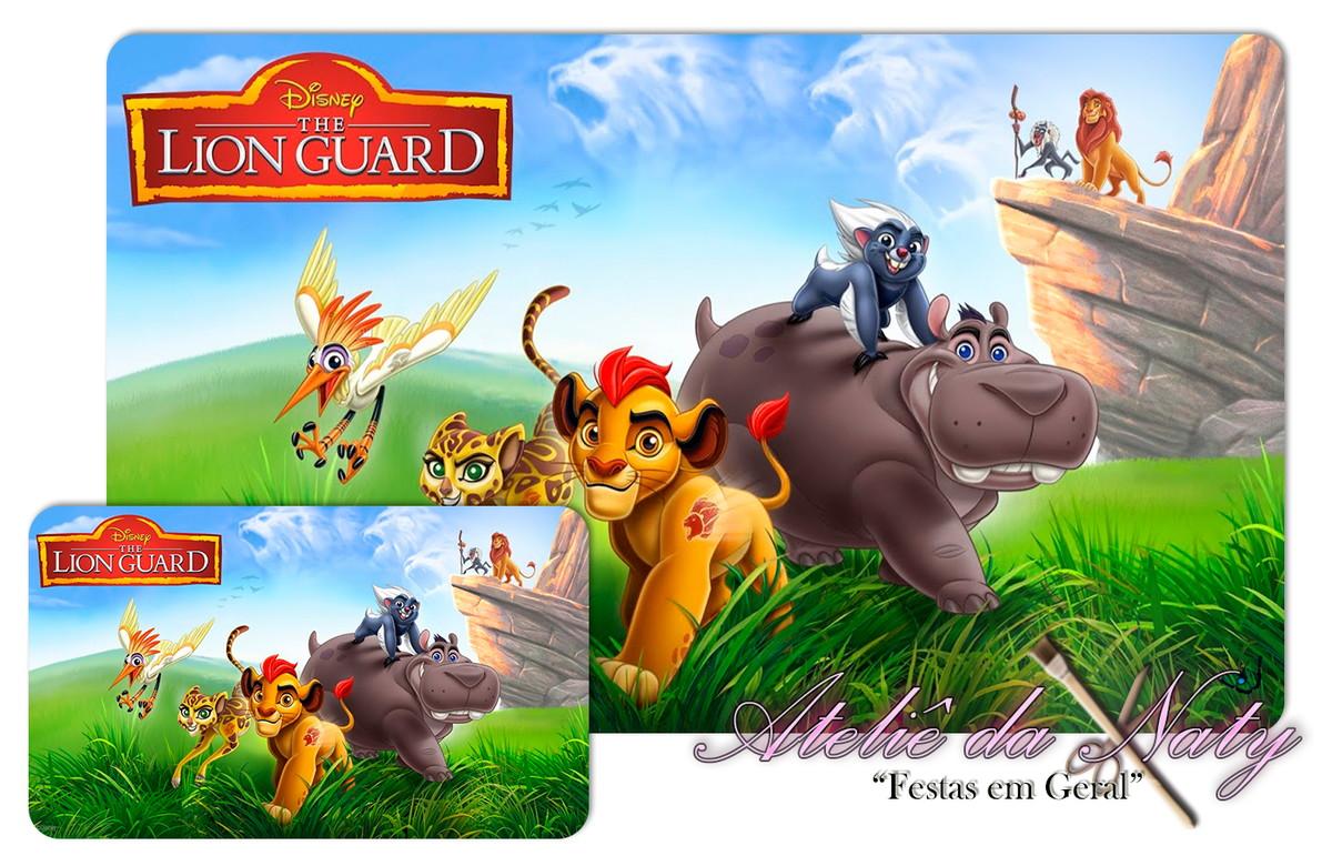 Jogo Americano - A Guarda Do Leão No Elo7