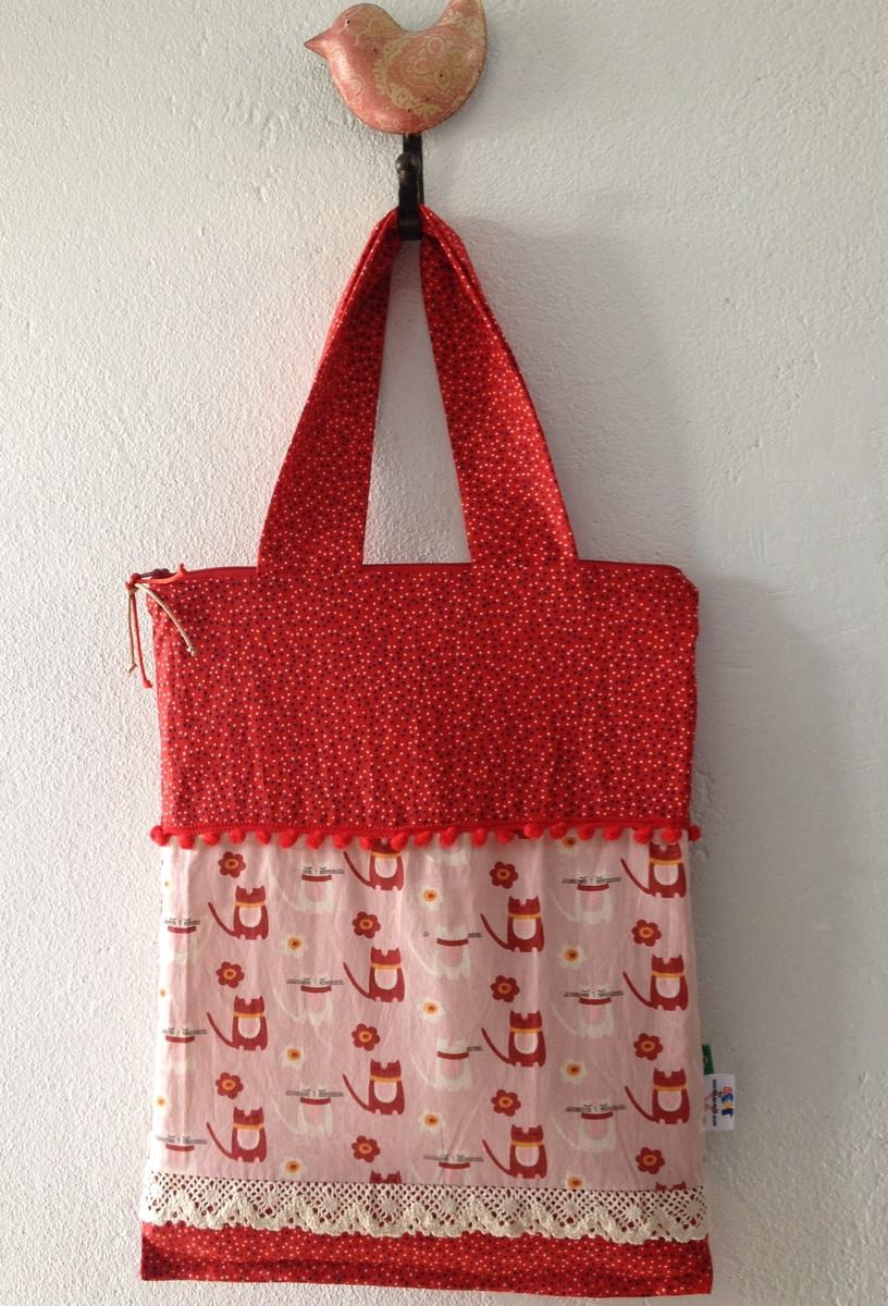 Bolsa De Tecido Para Carregar Livros : Bolsa em tecido arte com retalhos da juju elo