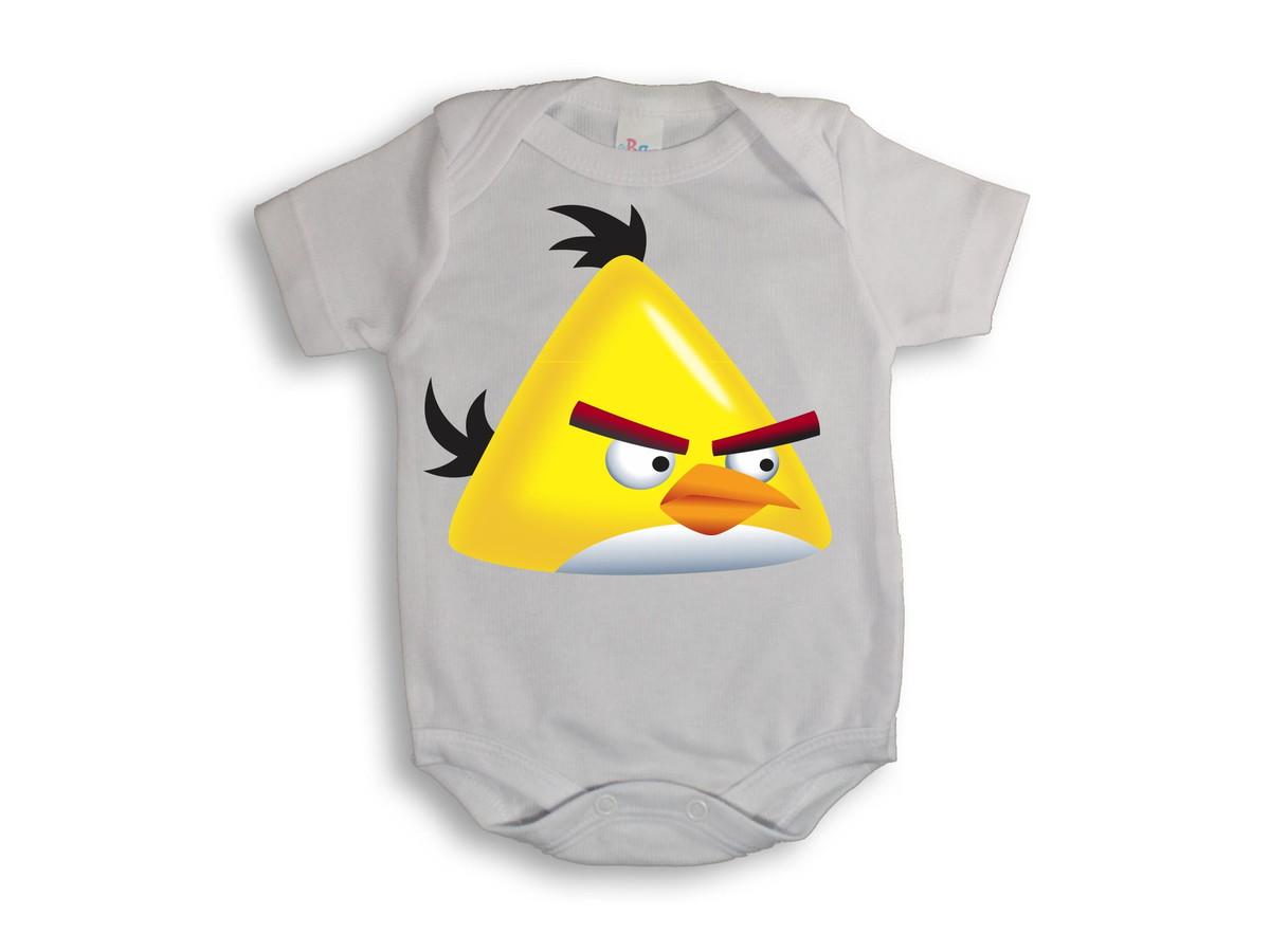 Body Mesversario Angry Birds Kit No Elo7: Body Angry Birds # Promoção Do Mês