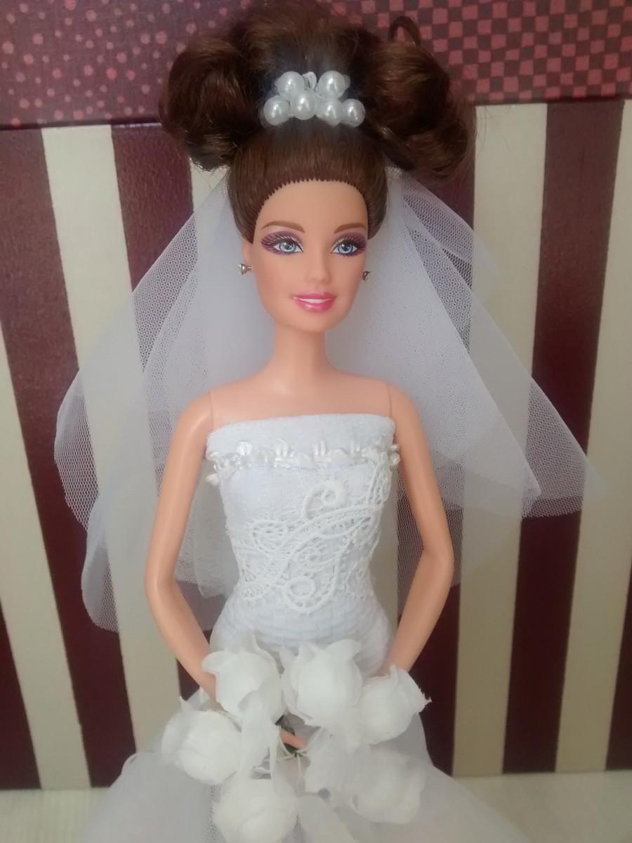 Barbie Noiva ~ Barbie Noiva Bailarina Luigi Fashion Dolls Elo7