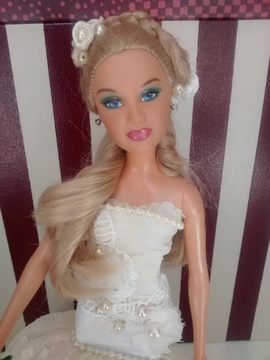 Barbie Noiva ~ Barbie Noiva Off White Luigi Fashion Dolls Elo7