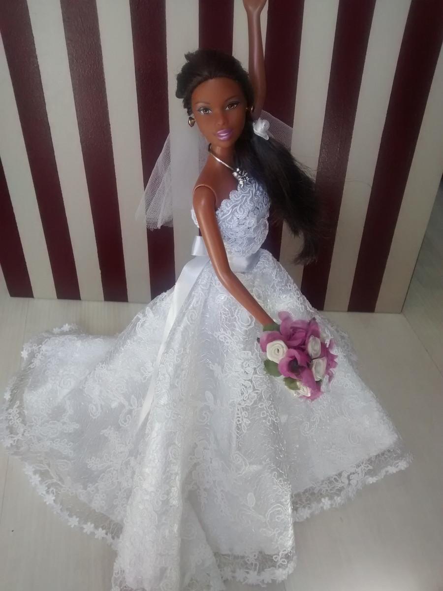 Barbie Noiva ~ Barbie Noiva Elegance no Elo7 Luigi Fashion Dolls (754A34)