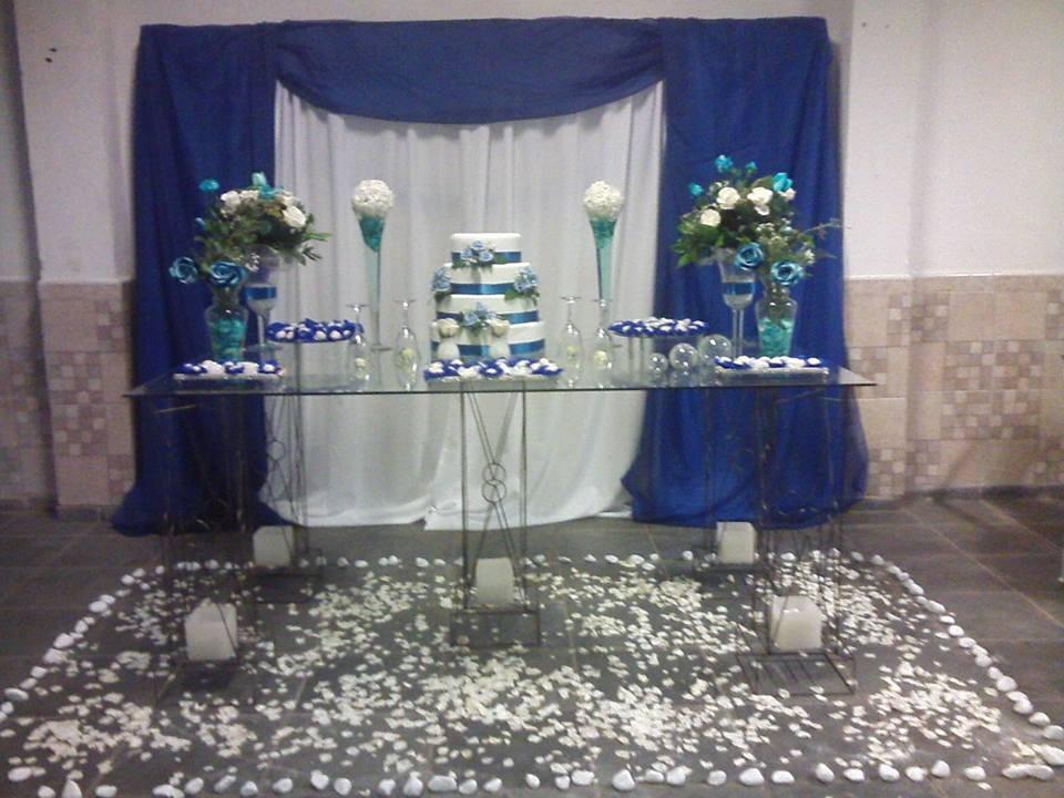 Decora??o Casamento Azul e Branco Anabelle Decora??es Elo7