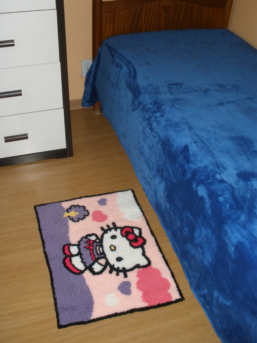tapete hello kitty belanartes elo7. Black Bedroom Furniture Sets. Home Design Ideas