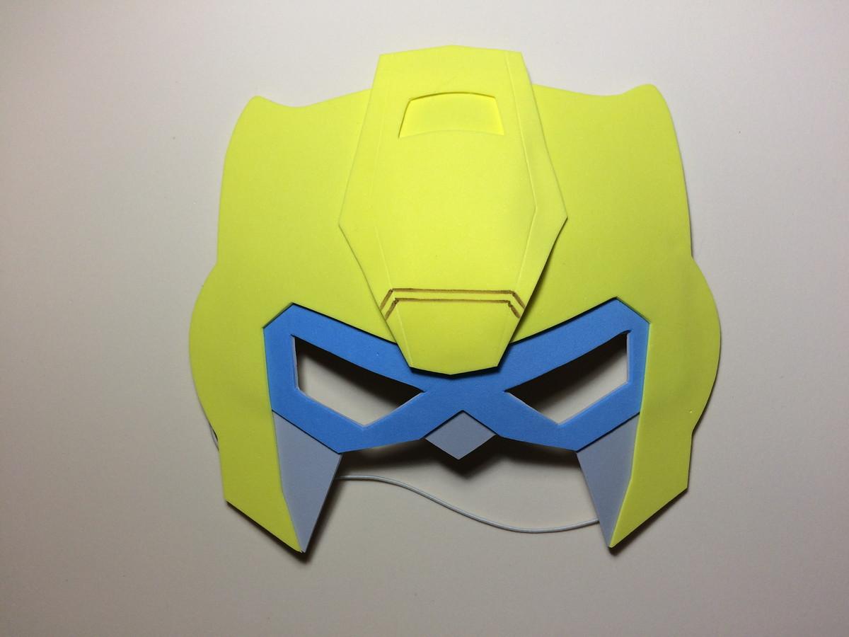 Imagenes Mascaras De Transformer: Mascaras Em EVA - Tema Transformers