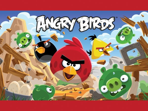 Toppers Personagens Angry Birds: Kit Festa - Angry Birds