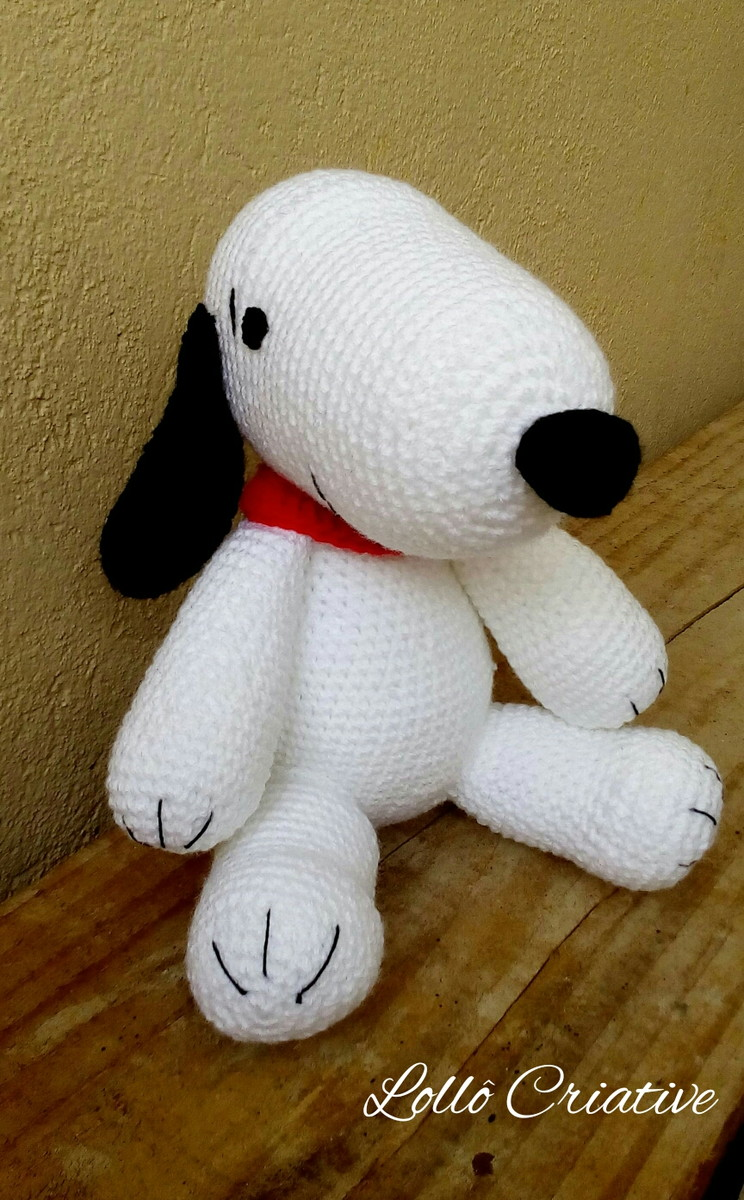 Amigurumi Schemi Free Italiano : Amigurumi Snoopy LollO Criative Elo7