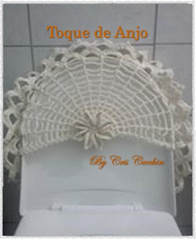Jogo De Banheiro Completo : Jogo de banheiro croch? toque anjo croche elo