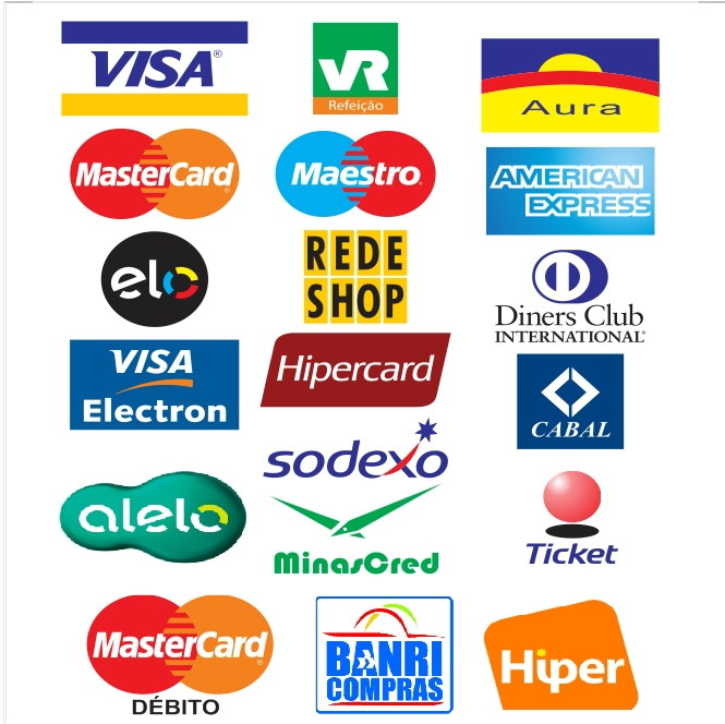 3x adesivo cart245es cr233dito visa master no elo7 queen