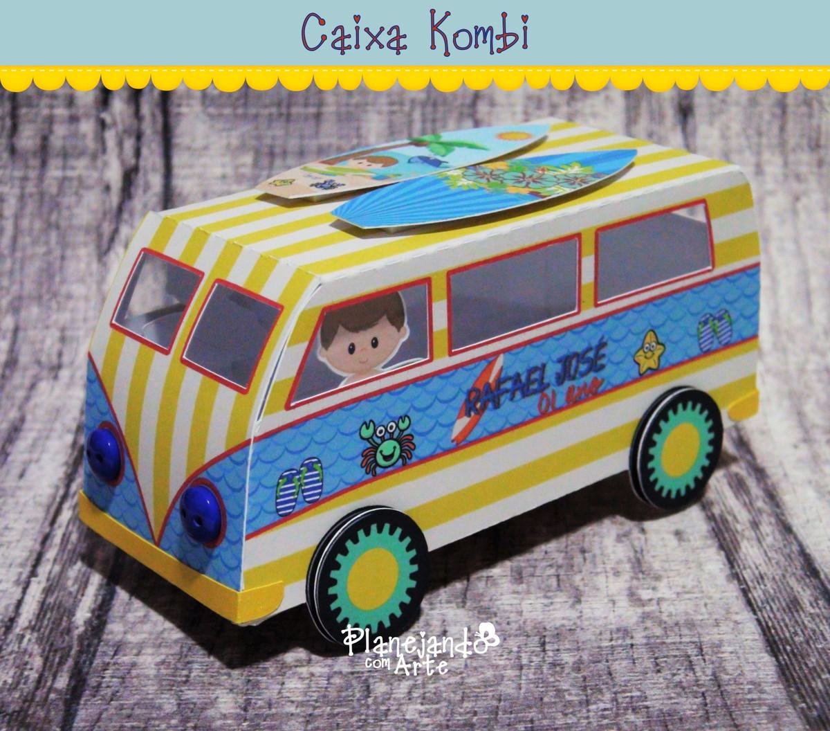 Enfeite De Kombi ~ Caixa Kombi Planejando com Arte Personalizados Elo7