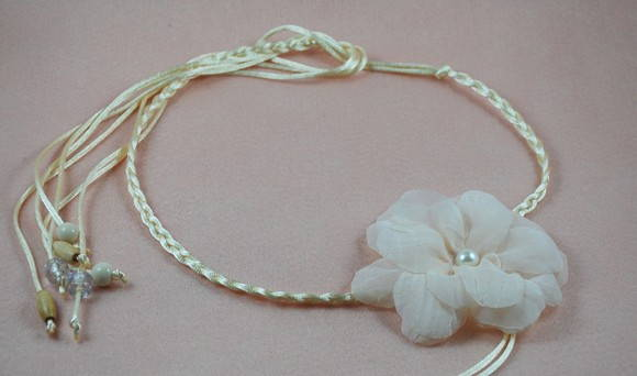 Headband SUMMER nude
