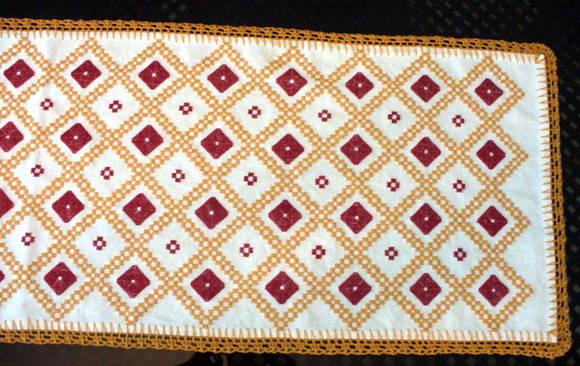 10 toalha de mesa alegre r $ 49 55 caminho de mesa hardanger clarice