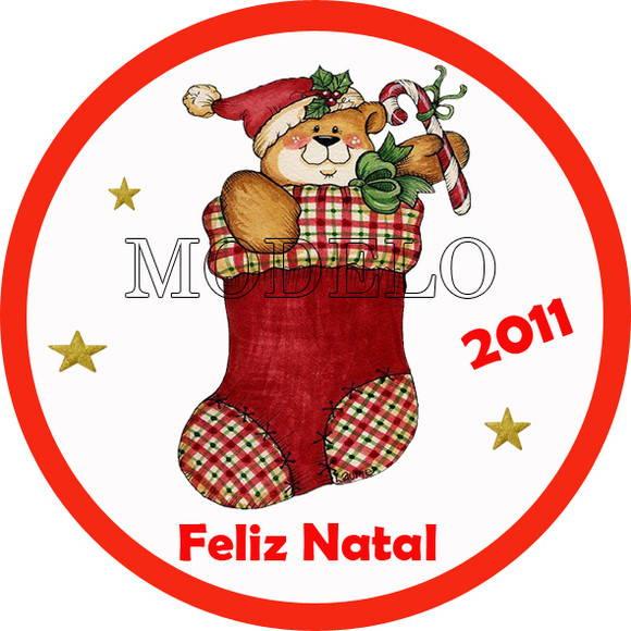 Adesivo De Flamingo ~ Adesivo para Latinhas Especial de Natal Personaliza Lembranças Elo7