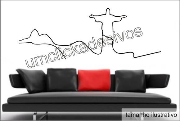 Adesivos De Estrogênio ~ Adesivo parede Rio de Janeiro 4 150cm Um cl