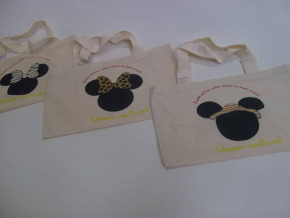Mickey e Minnie SAFARI - Eco bag Infanti