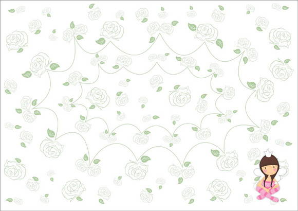 Papel vegetal estampado 001