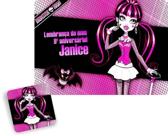 Monster High jogo americano