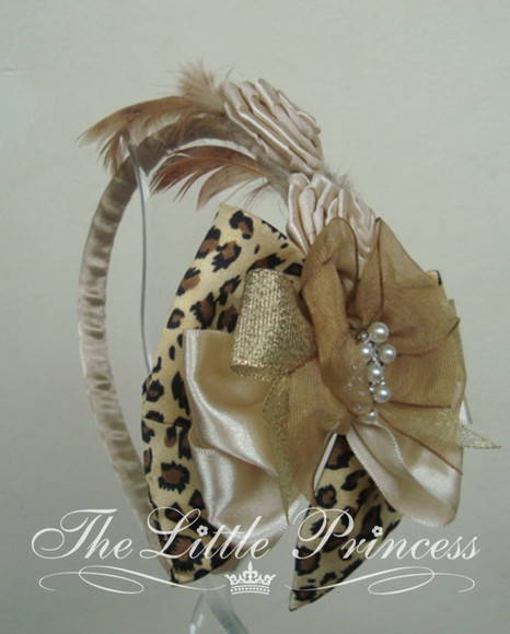 00154 Fascinator The Little Princess