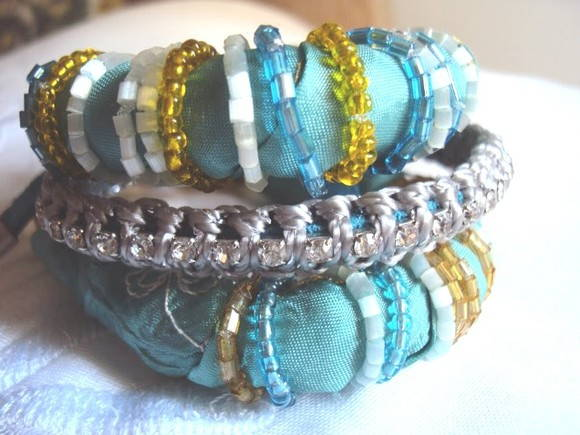 Artesanato Que Mais Vende ~ Kit de pulseiras estilo indiano GeoDea Artesanato Elo7