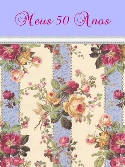 Convite de Aniversario 50 Anos Feminino Convite de 50 Anos
