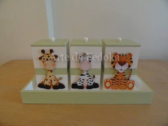 Kit de Beb�  Safari